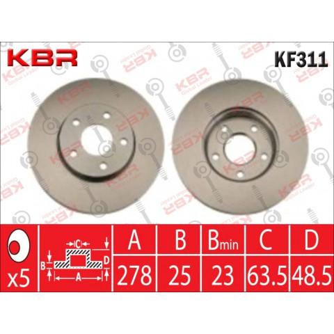 KF311   -   BRAKE DISC
