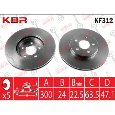 KF312   -   BRAKE DISC
