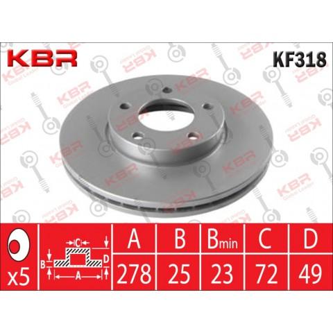 KF318   -   BRAKE DISC