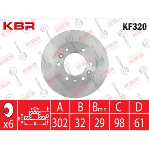 KF320   -   BRAKE DISC