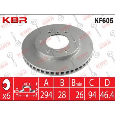 KF605   -   BRAKE DISC