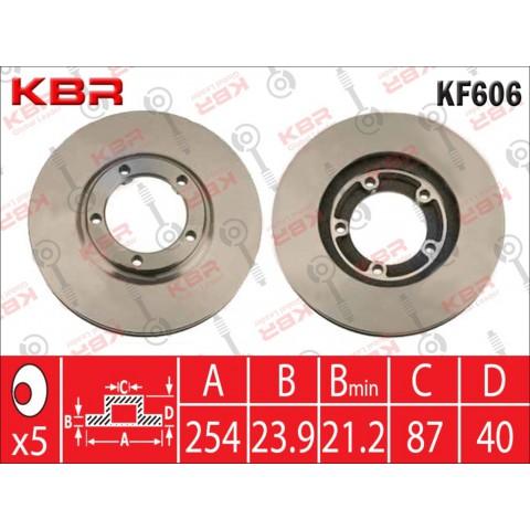 KF606   -   BRAKE DISC