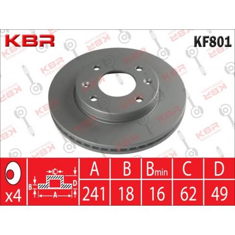 KF801   -   BRAKE DISC
