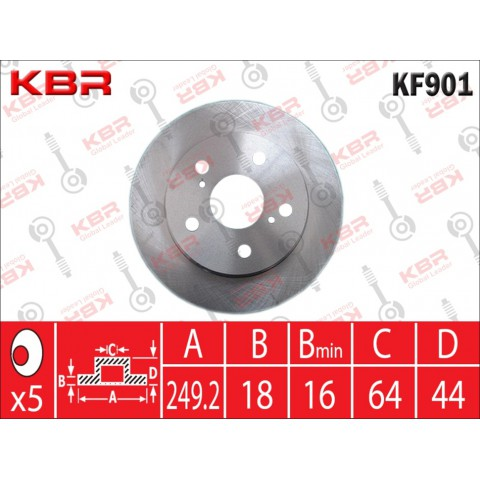 KF901   -   BRAKE DISC