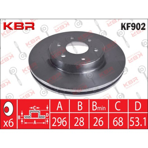 KF902   -   BRAKE DISC