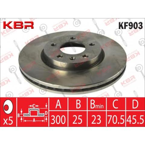 KF903   -   BRAKE DISC