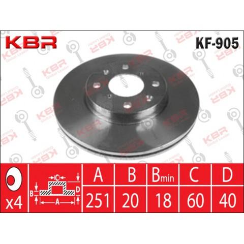 KF905   -   BRAKE DISC