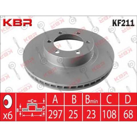 KF211   -   BRAKE DISC