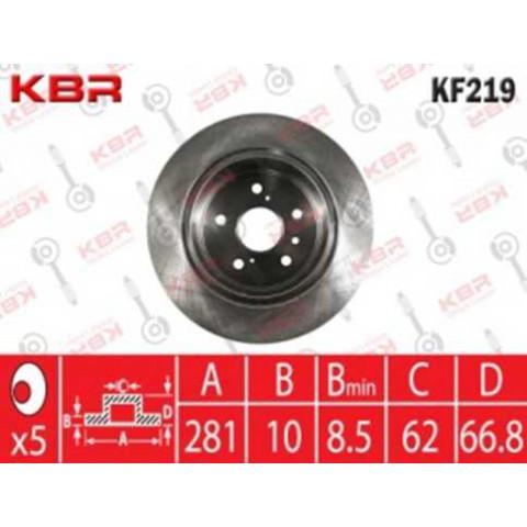 KF219   -   BRAKE DISC