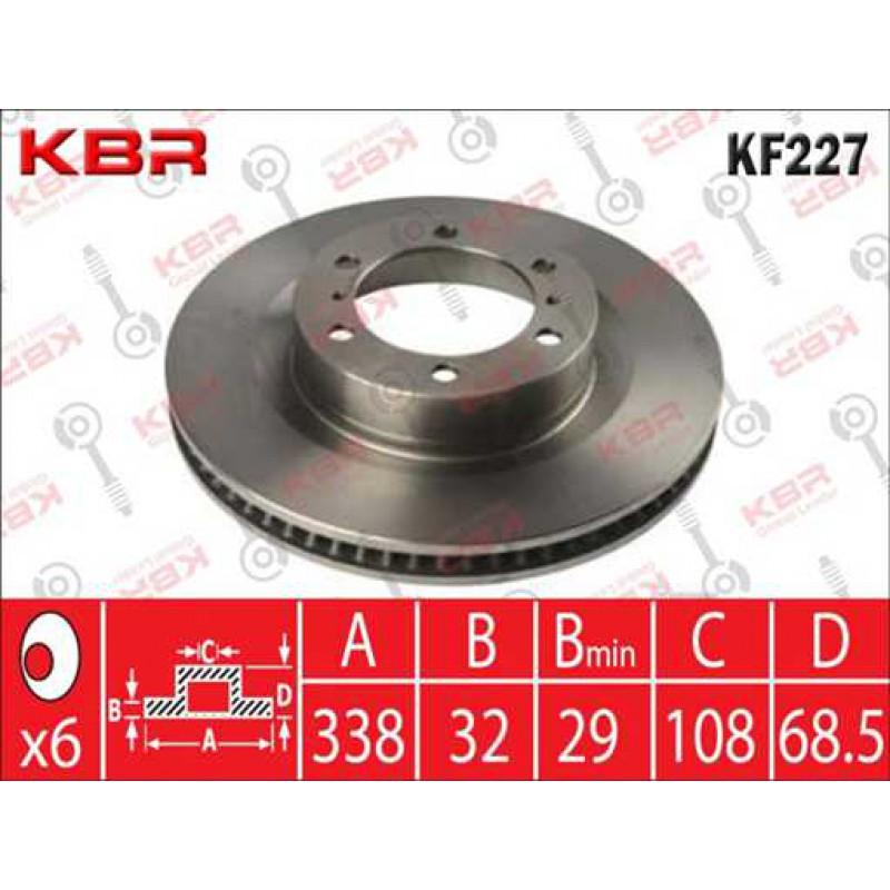 KF227   -   BRAKE DISC