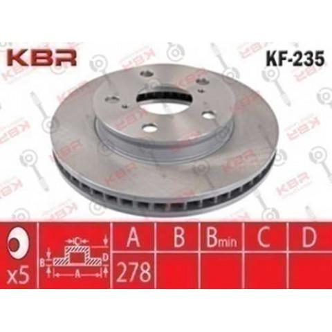 KF235   -   BRAKE DISC