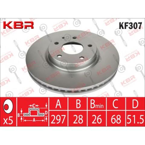 KF307   -   BRAKE DISC