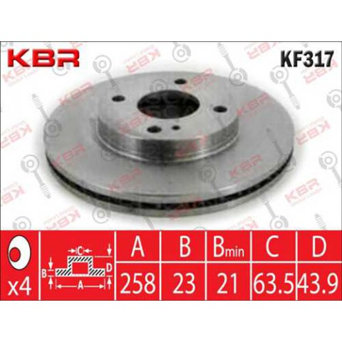 KF317   -   BRAKE DISC