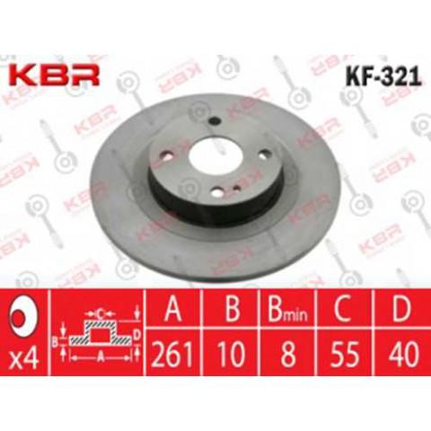 KF321   -   BRAKE DISC