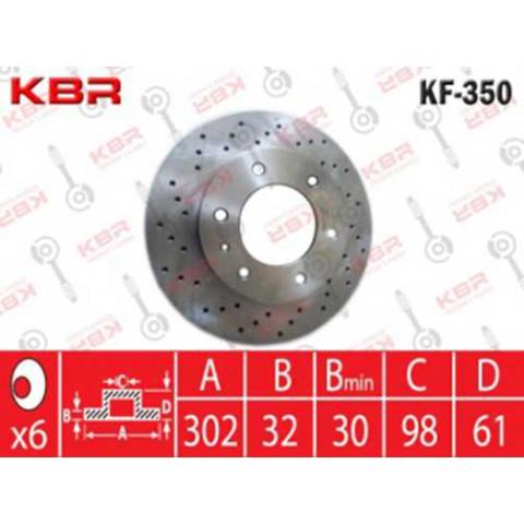 KF350   -   BRAKE DISC