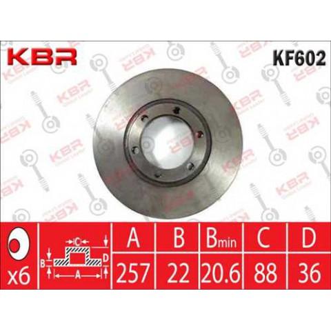 KF602   -   BRAKE DISC