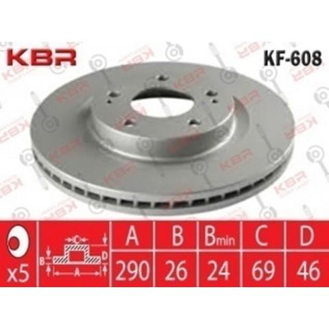 KF608 – BRAKE DISC