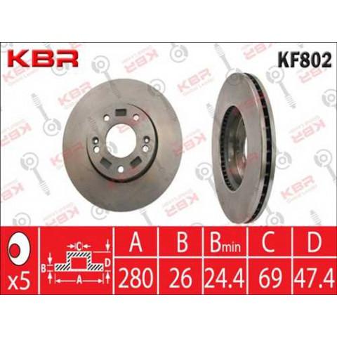 KF802   -   BRAKE DISC