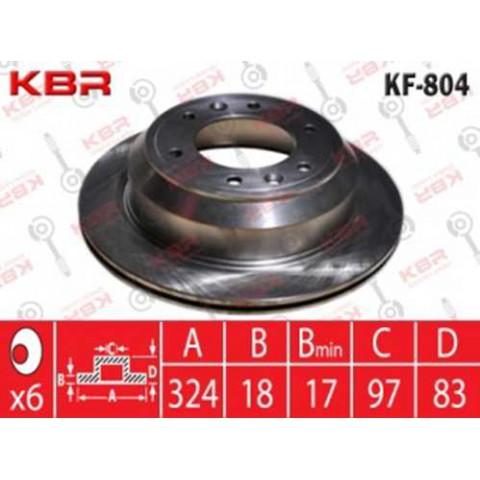 KF804   -   BRAKE DISC