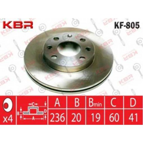 KF805   -   BRAKE DISC