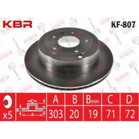KF807   -   BRAKE DISC