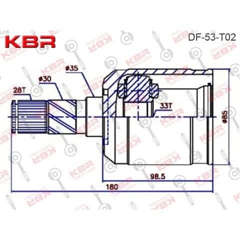 FD53T02   -   INNER CV JOINT