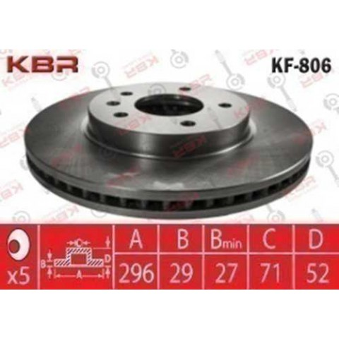 KF806   -   BRAKE DISC
