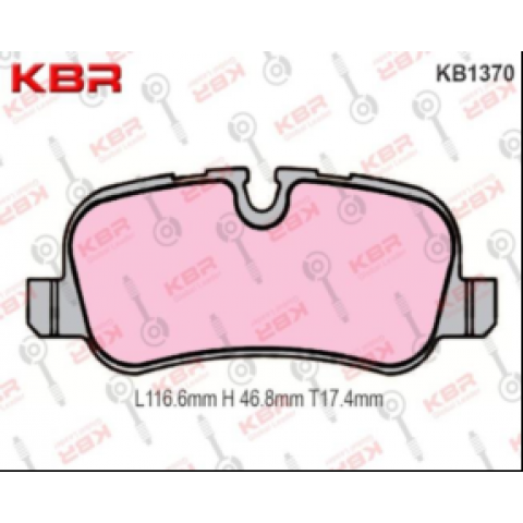KB1370   -   Brake Pad Rear